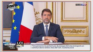 """20h30 Médias : la stratégie du """"coup de pression"""" du gouvernement pour le déconfinement"""