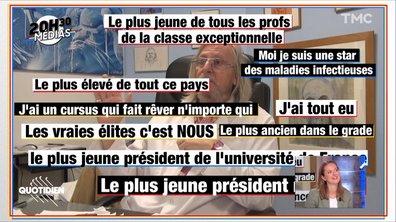 20h30 Médias : la vidéo un rien mégalo de Didier Raoult