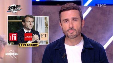 20h30 Médias : le plan com' pré-déconfinement d'Emmanuel Macron
