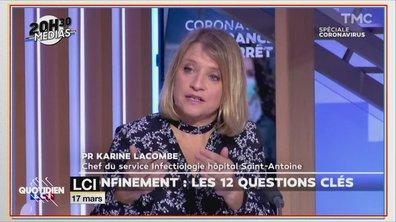 20h30 Médias : victime de menaces, le Dr. Karine Lacombe quitte Twitter
