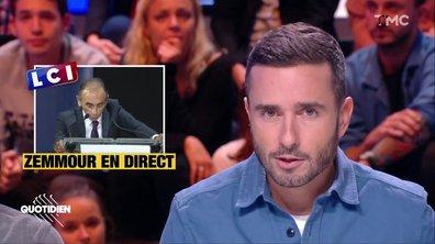 21h Médias : fallait-il diffuser le discours d'Eric Zemmour ?