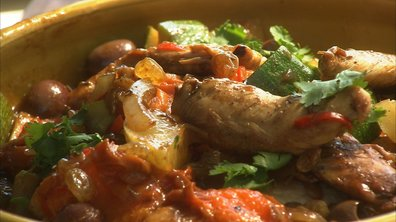 Tagine de poulet express, au wok !