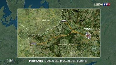 Des migrants otages des rivalités en Europe