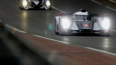 Audi en pôle des 24h du Mans