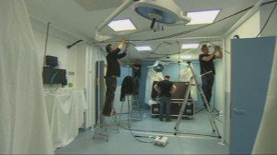 Making-of : l'installation des 70 caméras dans le CHU de Poitiers