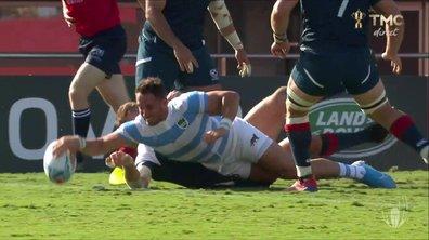 Argentine - USA (19 - 0) : Voir le deuxième essai de Tuculet en vidéo
