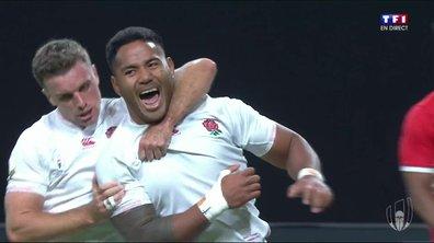 Angleterre - Tonga (15 - 3) : Voir le second essai de Tuilagi en vidéo