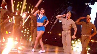 Camille Lou et Grégoire Lyonnet, un quickstep pour leur 2è danse sur  « Candyman»