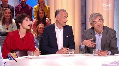 """Les 3 """"moderators"""" reviennent sur le débat."""