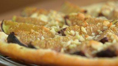 Tarte fine aux figues au barbecue