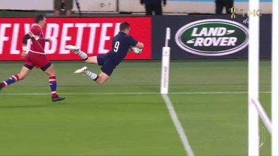 Ecosse - Russie (47 - 0) : Voir le troisième essai de Horne en vidéo