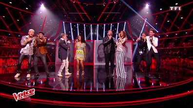 Les 4 finalistes, Mika, Zazie, Florent Pagny et M Pokora - « I Feel It Coming » (The WeekNd ft. Daft Punk) (La finale en direct – Saison 6)