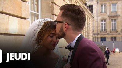 4 mariages pour 1 lune de miel du 17 octobre 2019 - Wafa et Mathieu