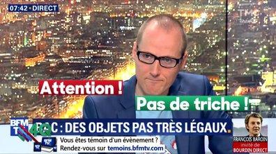 """Les 4 Q - BFM nous file ses """"bons plans triche"""" pour le Bac"""