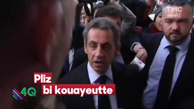 "Les 4 Q - ""Do you speak english ? Sarkozy english ?"""