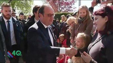 Les 4 Q - Dernières poignées de main pour François Hollande
