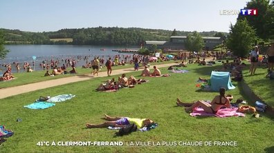 41°C à Clermont-Ferrand : la ville la plus chaude de l'Hexagone