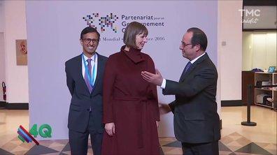 Les 4Q - François Hollande en pince pour elle