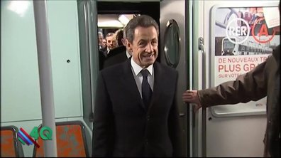 Les 4Q : Nicolas Sarkozy, expert en transports en commun