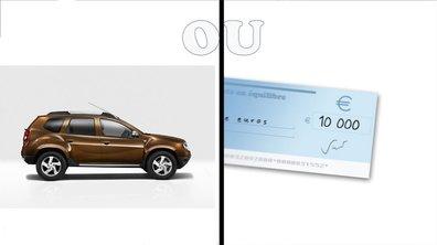 Un 4x4 ou un chèque de 10 000 euros !