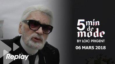 5 minutes de mode by Loïc Prigent du 6 mars 2018