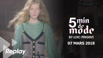 5 minutes de mode by Loïc Prigent du 7 mars 2018
