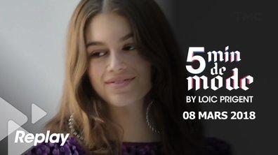 5 minutes de mode by Loïc Prigent du 8 mars 2018