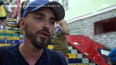 Christophe Willem vous embarque à Rio