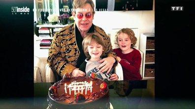Elton John ému, il se confie sur ses enfants