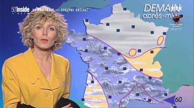 Evelyne Dheliat raconte ses débuts à la météo