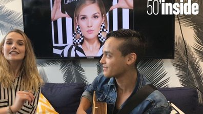 """EXCLU. Camille Lou interprète en LIVE """"Laisse les gondoles à Venise"""""""