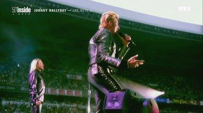 Johnny Hallyday, une véritable bête de scène