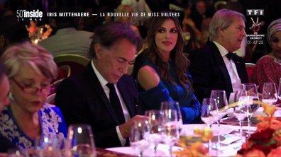 L'astuce d'Iris Mittenaere pour ne pas s'ennuyer aux dîners de gala !