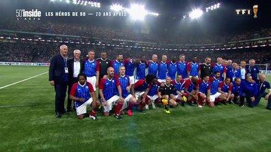 L'événement sportif de la semaine : retrouvailles avec les Bleus, 20 ans après
