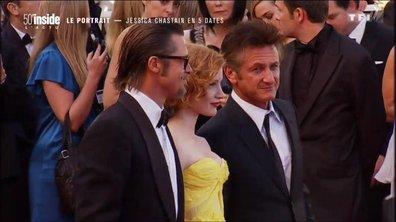 La réaction insolite de Jessica Chastain lorsqu'elle a monté les marches du Festival de Cannes pour la première fois