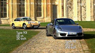 Plein Phare : La Porsche 911 fête ses 50 ans