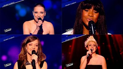 The Voice 4 - Hiba, Battista, Manon... Girl Power pour les Lives !