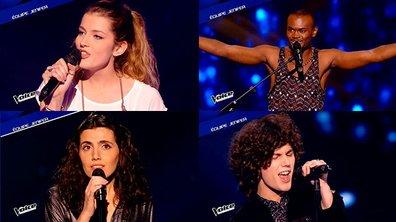 The Voice 4 : Côme, Manon, Alvy, Battista : les 4 fantastiques de Jenifer pour les Lives