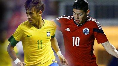 Brésil-Colombie : Suivez le match en streaming vidéo