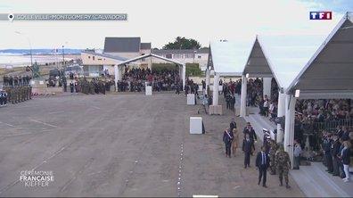 75e anniversaire du Débarquement : Emmanuel Macron est arrivé à Colleville-Montgomery