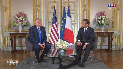 75e anniversaire du débarquement : revoir la conférence de presse de Macron et Trump