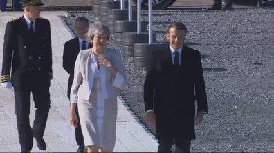 75ème anniversaire du débarquement : l'arrivée en images d'Emmanuel Macron à Ver-sur-Mer