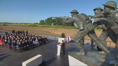75ème anniversaire du débarquement : le discours d'introduction d'Emmanuel Macron à Ver-sur-Mer