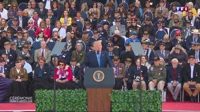 75ème anniversaire du débarquement : revoir le discours de Donald Trump