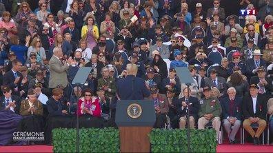 """75ème anniversaire du débarquement : """"Vous êtes la fierté de notre pays"""", déclare Donald Trump"""