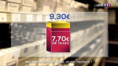 82% de taxes sur le tabac : un prix prohibitif ?