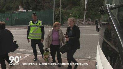 90' Enquêtes - Côte d'Azur : alerte sur l'autoroute des vacances