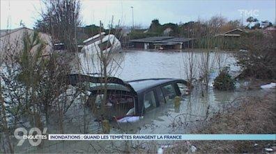90' Enquêtes - Vents violents, mer déchaînée, inondations : quand les tempêtes ravagent la France
