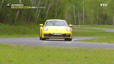 La nouvelle Porsche 911 face au chrono