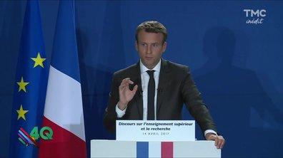 Les 4 Q - A pas compris l'Macron